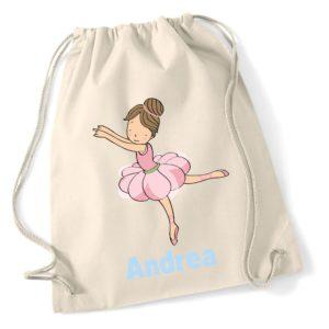 Mochila de algodón Bailarina-0