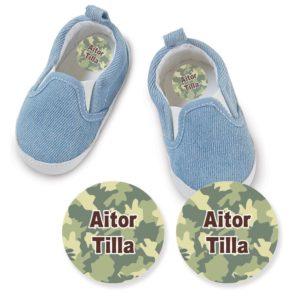etiquetas-marcar-zapatos-multicolor