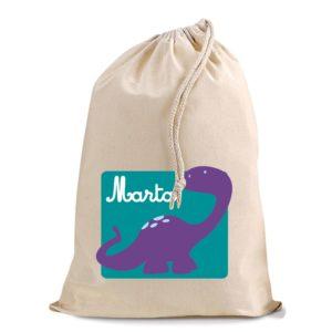 Bolsita Dinosaurio Violeta-0