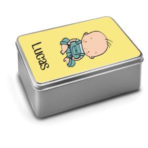 Caja metálica con ilustración personalizada-0