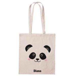 Bolsa de algodón Panda-0