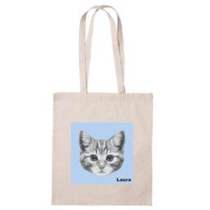 Bolsa de algodón Kat el gato-0