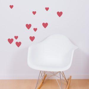 Mini vinilo corazones-0