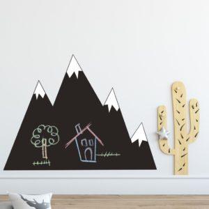Vinilo pizarra Montañas nevadas-0