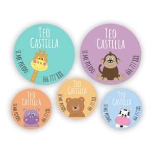 Pack de chapas Animalitos-0