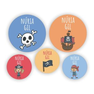 Pack de chapas Piratas-0