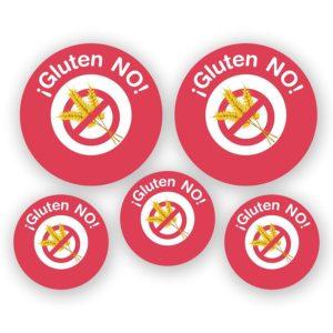 Pack de chapas Intolerancia al GLUTEN-0
