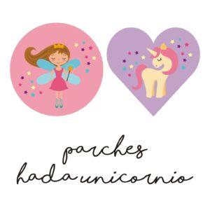 Parches Hada Unicornio-0