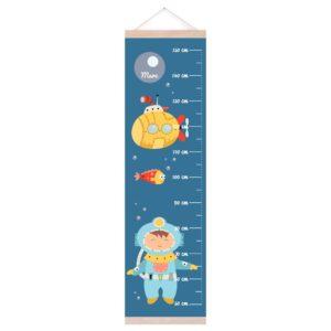 medidor infantil submarino amarillo